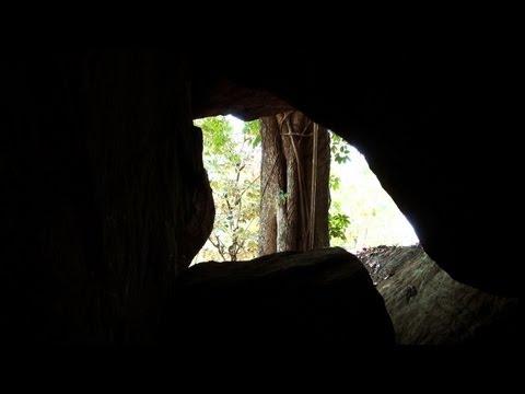 A Cave near Pulinjal Waterfalls, Wayanad