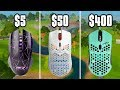 - $5 Mouse vs $400 Mouse On Fortnite! - Cheap vs Expensive Gaming Mice