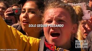 Miley Cyrus - The Climb Live at The March For Our Lives (Subtitulado al español)