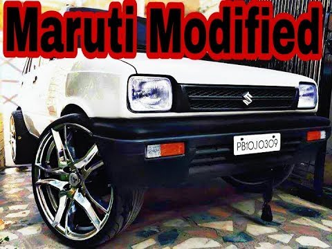 Maruti  800 modified in india 2017