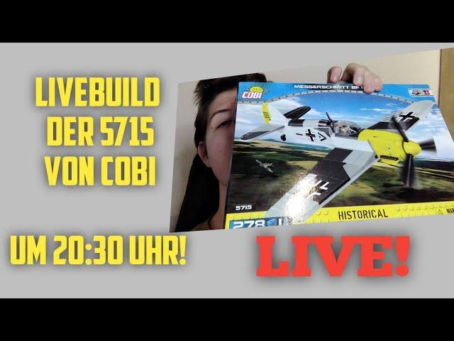 [LIVE] COBI 5715 - Messerschmitt BF 109 F-2 / Gemütlicher Abendstream