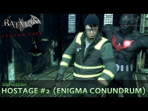 Batman: Arkham City - Riddler Hostage #2 - Enigma Conundrum Side Mission Walkthrough