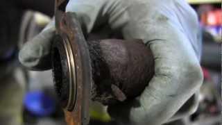 видео Прокладка глушителя (резонатора) Aveo, Россия (с болтами, гайками, гроверами)