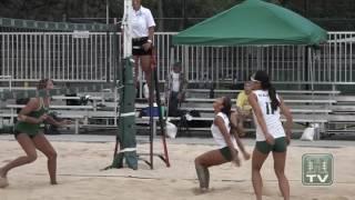 Rainbow Wahine Beach Volleyball Highlights 4-7-17