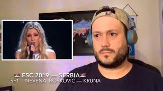 🇷🇸 ESC 2019 Reaction to SERBIA!🇷🇸