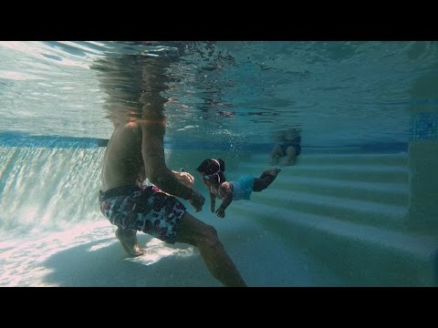 Zoey's Swimming Lesson | The Little Couple