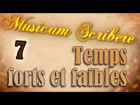 Musicam Scribere n°7 - Temps forts et faibles