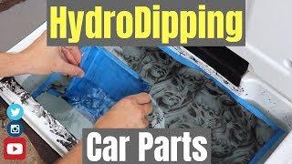 HYDRO DIPPING CAR PARTS AT HOME  🚗🏠