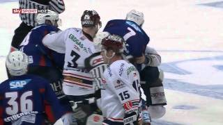 Eisbären Berlin vs. Adler Mannheim Mini Brawl