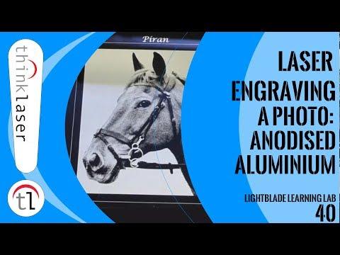 Laser Engraving a Photo: Anodised Aluminium Tutorial Part 2 (2018)
