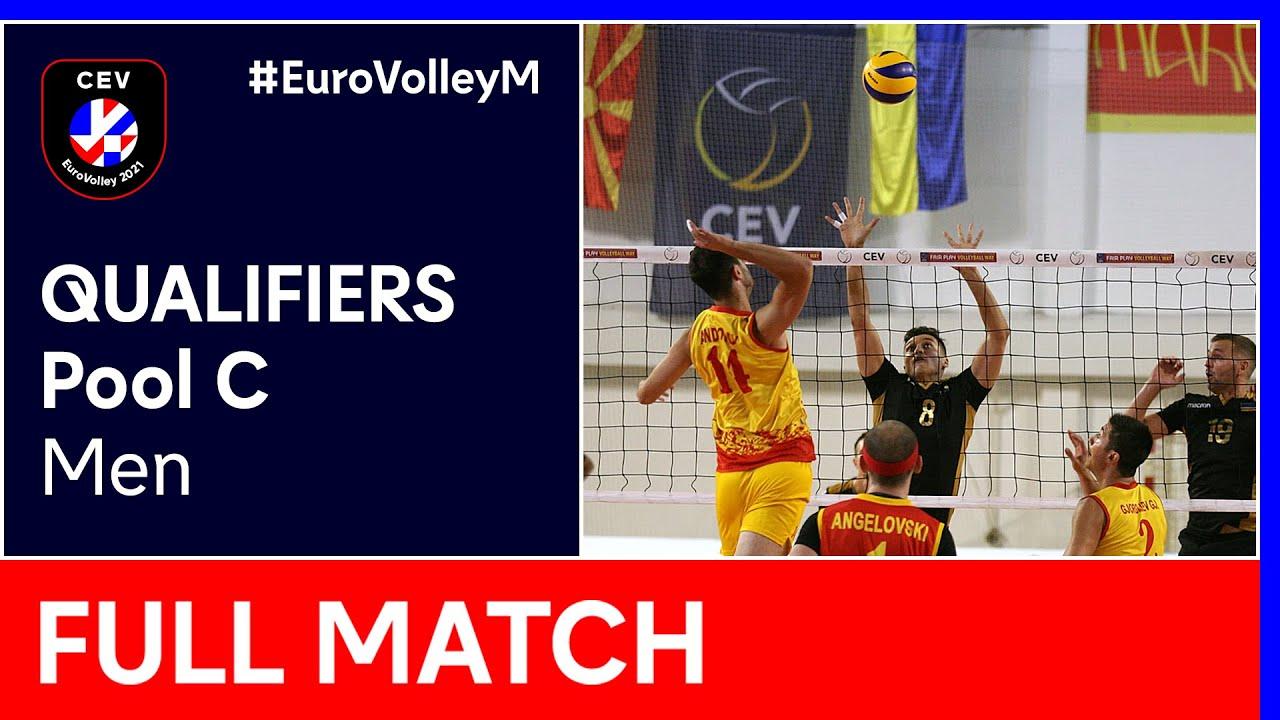 North Macedonia vs. Bosnia & Herzegovina - CEV EuroVolley 2021 Qualifiers Men