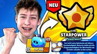CARL's STARPOWER aus einer GRATIS BOX gezogen! • Brawl Stars deutsch