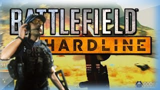 Battlefield Hardline Beta Funny Moments - Blowing Up Cars, Motorcycle Fun, and The Crane!