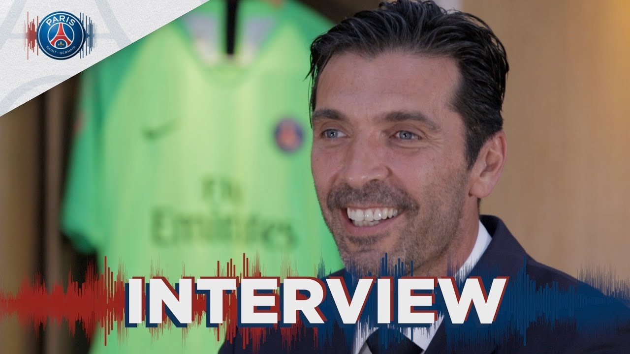 PREMIERE INTERVIEW DE GIANLUIGI BUFFON (FR🇫🇷 & ITA🇮🇹)