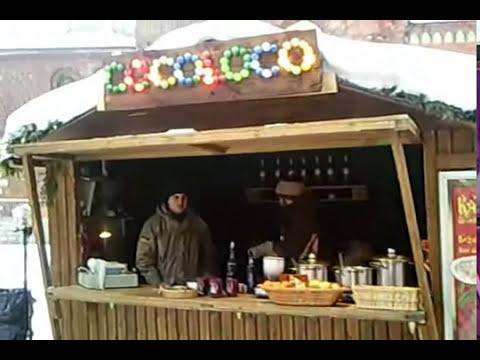 Riga (Latvia's Capital) Christmas market 2010
