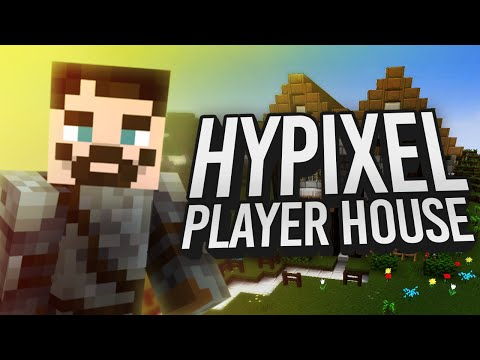 Minecraft Let's Build - Hypixel Player Housing