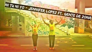 Ni Tu Ni Yo - Jennifer Lopez ft. Gente de Zona zumba choreography by Kelly Roberts
