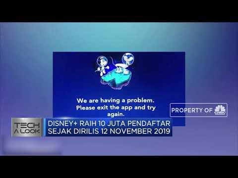 Saham Disney Melonjak Usai Disney Plus Raih 10 Juta Pendaftar