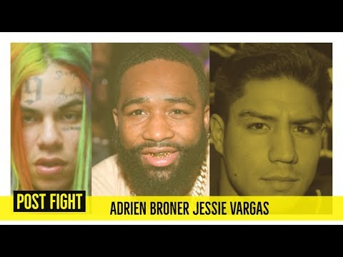 Adrien Broner and Jessie Vargas Boxing Draw REACTION