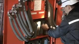 Обучение подземных рабочих правилам поведения и приемам самоспасения при пожарах