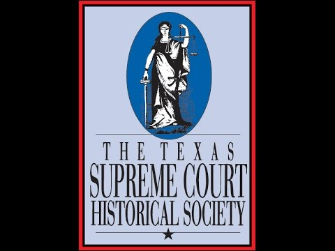 Presentation of the Texas Supreme Court Narrative History book to the Court
