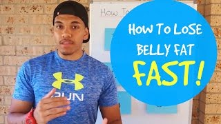 How to lose belly fat really fast in 2017 (6 easy steps)
