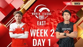 [BAHASA] W2D1 - PMWL EAST - League Play | PUBG MOBILE World League Season Zero (2020)