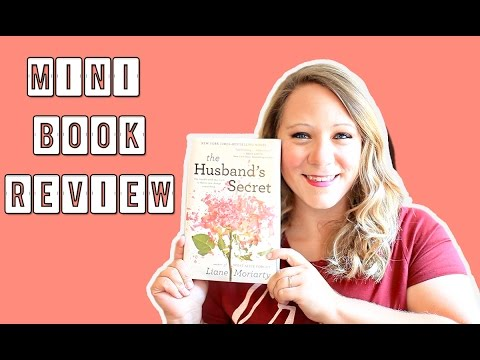 THE HUSBAND'S SECRET BY LIANE MORIARTY [MINI SPOILER FREE BOOK REVIEW]