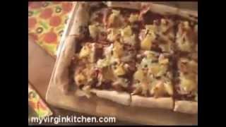 Ham And Pineapple Pizza - Myvirginkitchen