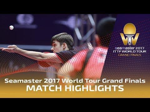 2017 World Tour Grand Finals Highlights: Tomokazu Harimoto vs Kirill Gerassimenko (R16)