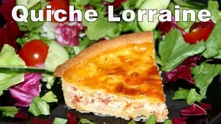 How To Make Quiche Lorraine (ham) Recipe Video
