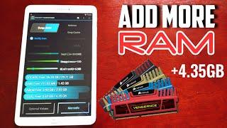 Samsung Galaxy Tab E 9.6 How To Increase Ram From 1.5GB Upto 4.3GB No Joke 100% Working Method