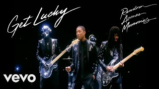 Daft Punk - Get Lucky (Official Video) ft. Pharrell Williams, Nile Rodgers