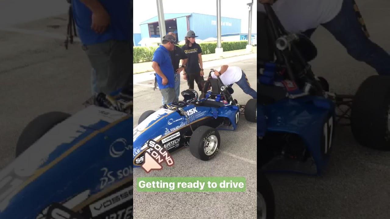Download Provost Furton Test Drives Student-Built Race Car