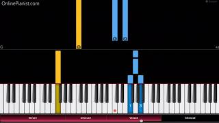 Fleetwood Mac - Go Your Own Way - Easy Piano Tutorial