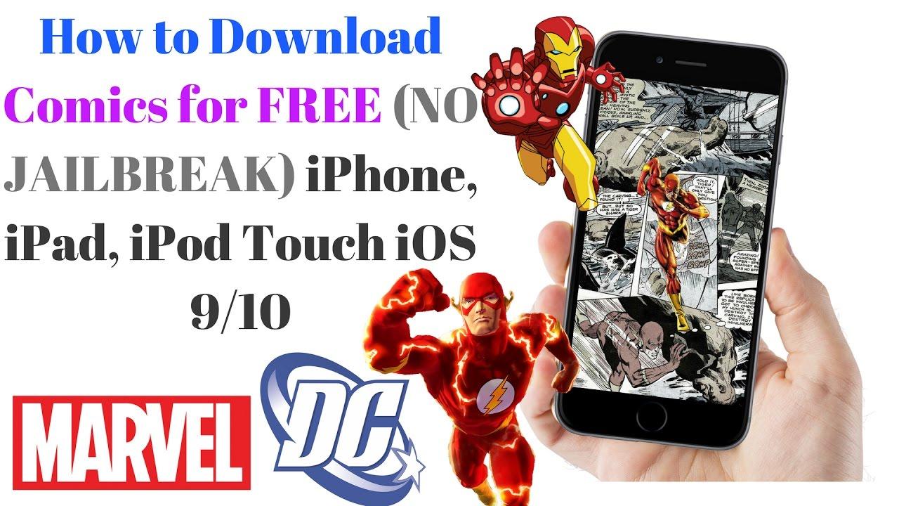 how to download comics for free no jailbreak iphone ipad ipod