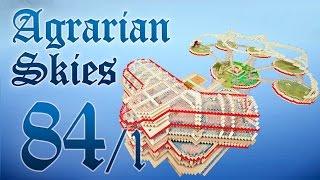 Minecraft FTB: Agrarian Skies #84, часть 1 - Blood Magic и Незер