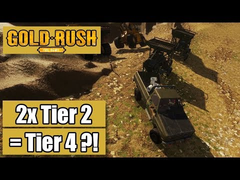 Gold Rush The Game #48 -2x Tier 2 = Tier 4 - GoldRush LetsPlay