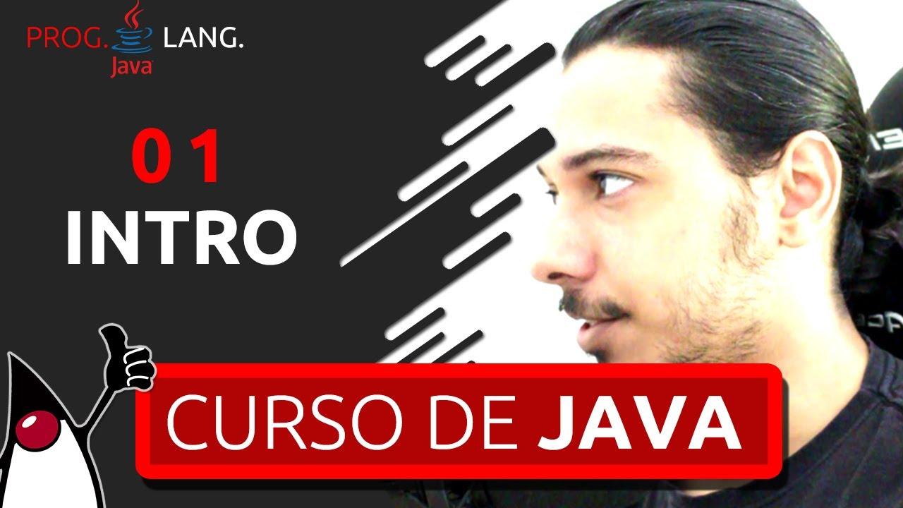 CURSO DE JAVA PARA INICIANTES 2020 - BEM-VINDO #01