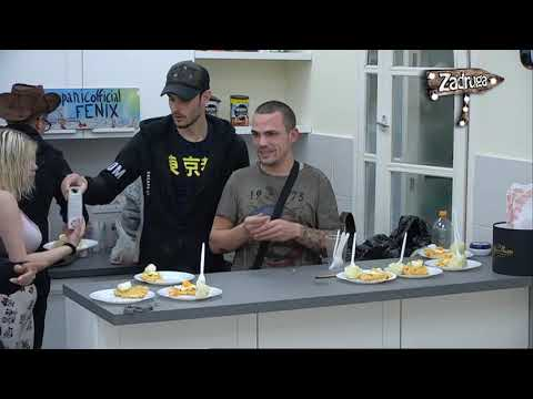 Zadruga 2 - Prva večera kauboja na ostrvu/ svađa Tome i Brendona  - 17.03.2019.