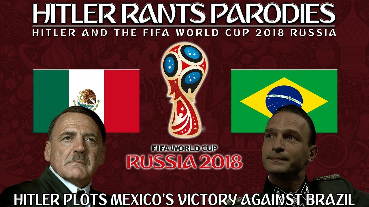 Hitler plots Mexico's victory against Brazil in the World Cup