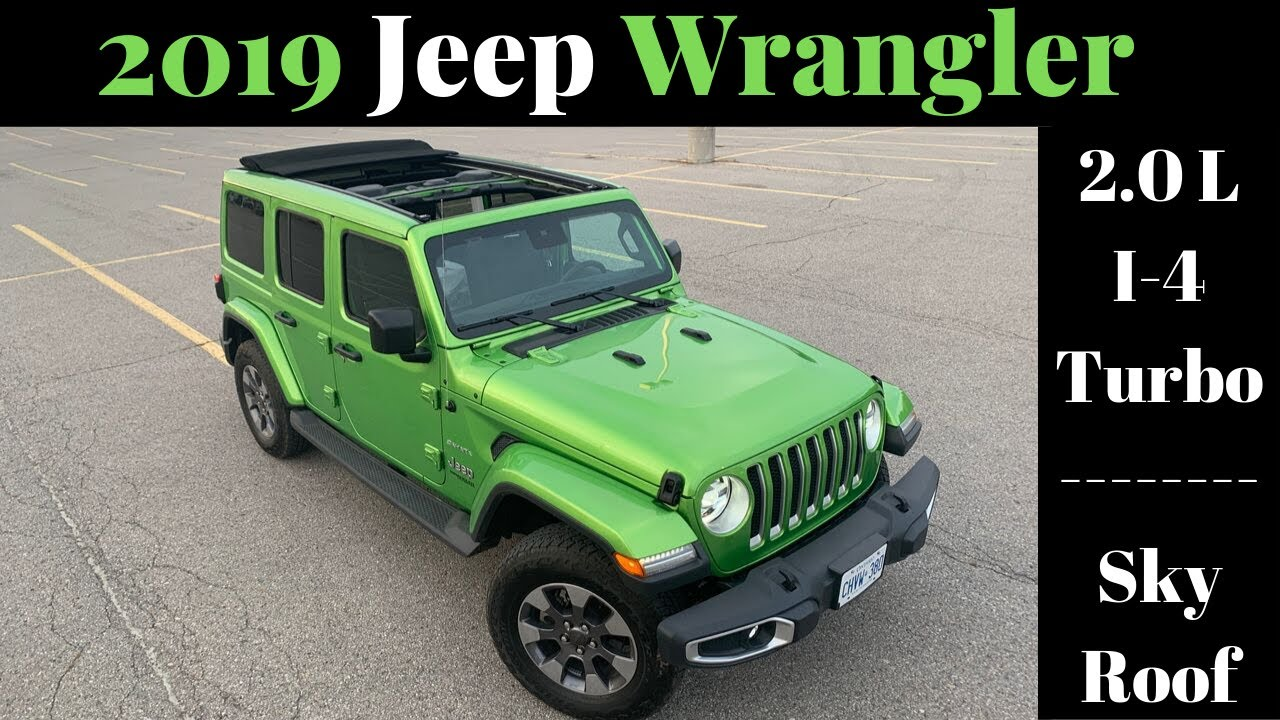 Perks Quirks Irks 2019 Jeep Wrangler 2 0 L Turbo 4 Cylinder