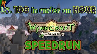 I Broke The World Record - lv. 1-100 in 52 minutes, lv. 1-105 in 78 minutes - Wynncraft Speedrun