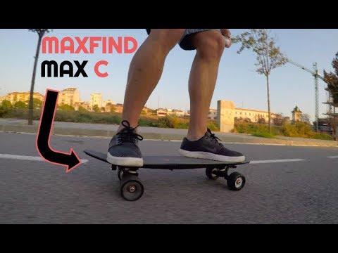 REVIEW DEL MAXFIND MAX C  EL MEJOR MINI SKATE EL\u00c9CTRICO POR 300\u20ac?!  YouTube