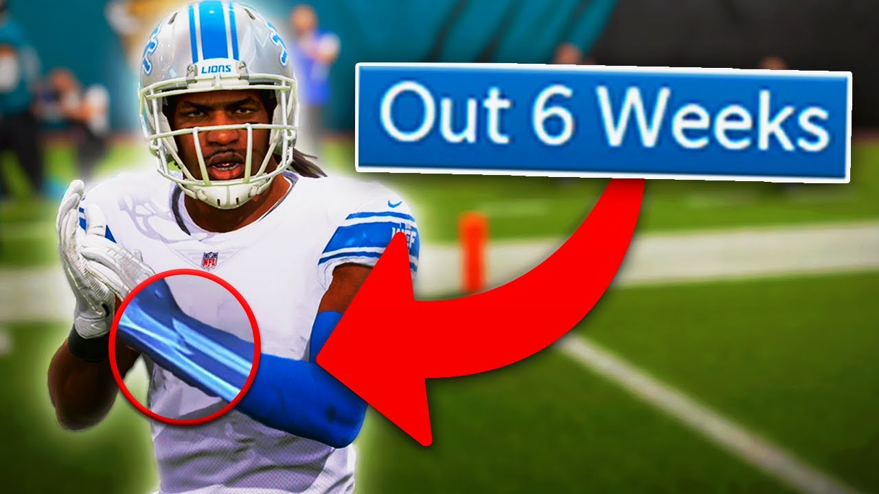 Download One of my best players got INJURED in the preseason... Madden 22 Detroit Lions Franchise