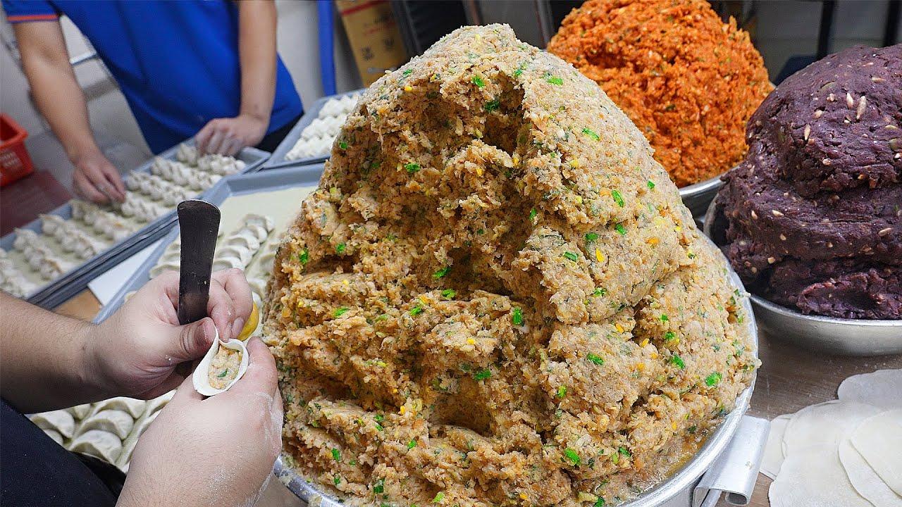 고1때부터 40년째 만두만 만든 아저씨? 온가족 똘똘 뭉쳐 하루 5천개씩도 파는 속 꽉찬 만두┃Family-made Mandu(dumplings)/Korean street food