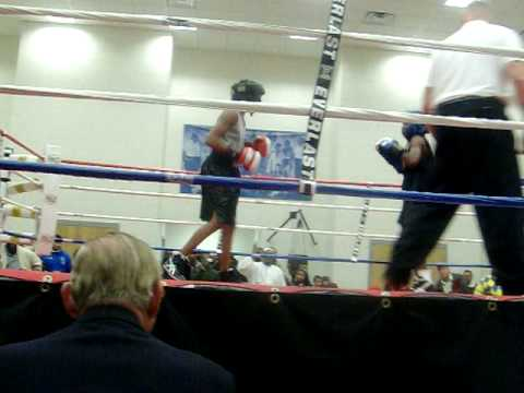 Abdul-Basir's first boxing match