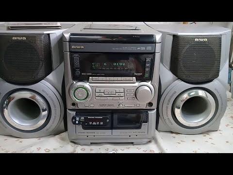 AIWA NSX-S555 con Cds, Caseteras y USB/MP3