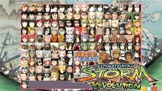 Como desbloquear todos os personagens - Naruto Ultimate Ninja Storm Revolution