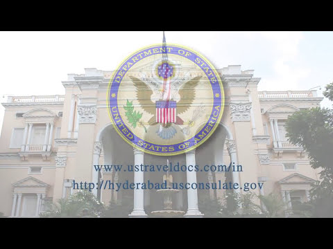 Visiting The U S Consulate, Hyderabad, Telangana For A Visa Interview